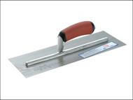 Marshalltown M/TMPB145D - MPB145D Pre-Worn Plasterers Trowel DuraSoft Handle 350 x 125mm (14 x 5in)
