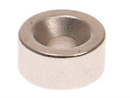 E-Magnets MAG301A - 301a Countersunk Magnets (2) 10mm Polarity = North