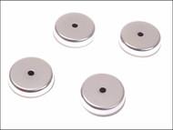 E-Magnets MAG704 - 704 Ferrite Shallow Pot Magnets(4) 40mm