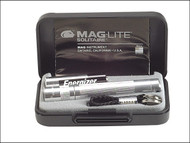 Maglite MGLK3A102 - K3A102 Mini Mag AAA Solitaire Torch Boxed - Silver