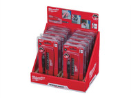Milwaukee MIL352943 - Set 2 Shockwave Drive Guide 12 Piece Counter Display of 10 Sets