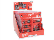 Milwaukee MIL430079 - Shockwave Compact Drill & Drive Set 30 Piece Counter Display of 6