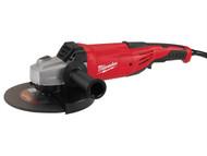Milwaukee MILAG22230 - AG22-230DMS 230mm Angle Grinder 2200 Watt 240 Volt