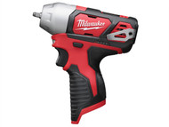 Milwaukee MILM12BIW140 - M12 BIW14-0 Compact 1/4in Impact Wrench 12 Volt Bare Unit