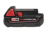 Milwaukee MILM18B15 - M18 B REDLITHIUM-ION Slide Battery Pack 18 Volt 1.5Ah Li-Ion