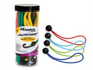 Master Lock MLK3040EAV - Bungee Jar 6 Piece + Set Of 4 Bungee Balls