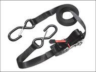 Master Lock MLK3056E - Ratchet Tie-Down S Hooks 4.25m 4 Piece