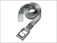 Master Lock MLK3110E - Lashing Strap With Metal Buckle 2.5m 2 Piece
