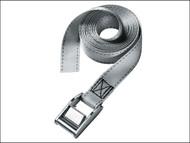 Master Lock MLK3112E - Lashing Strap with Metal Buckle 5m 150kg 2 Piece