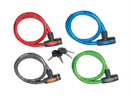 Master Lock MLK8228E - Mixed Color Keyed Armoured Cable 1m x 18mm