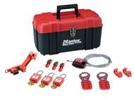 Master Lock MLKS1117KA - Lockout Toolbox Electrical Kit 12-Piece