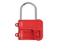 Master Lock MLKS430 - Two Padlock Lockout Hasp - 4mm Shackle