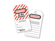 Master Lock MLKS497A - Lockout Tags - Do Not Operate (Pack of 12)