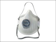 Moldex MOL240555 - Classic Series FFP2 NR D Valved Mask Pack of 5