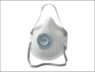 Moldex MOL2555 - Classic Series FFP3 NR D Valved Mask Pack of 20