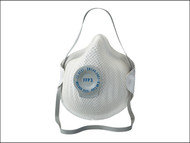 Moldex MOL255555 - Classic Series FFP3 NR D Valved Mask Pack of 5