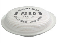 Moldex MOL808001 - P3 Filters For 8000 & 5000 Series Pack of 8