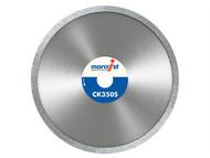 Marcrist MRCCK350125 - CK350 Smooth Rim Diamond Blade Tile Cut 125mm x 22.2mm