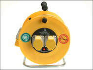 Masterplug MSTLVCT50162 - Cable Reel 50 Metre 16A 110 Volt Thermal Cut-Out