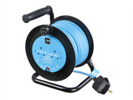 Masterplug MSTMOC2012B - Drum Cable Reel 20 Metre 2 Socket 10A Thermal Cut-Out 240 Volt