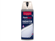 Plasti-kote PKT26101 - Twist & Spray Radiator Magnolia 400ml