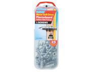 Plasplugs PLAMSDF257 - MSDF 257 Metal Self-Drill Fixings & Screws Pack of 25