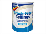 Polycell PLCCFCSM5L - Crack-Free Ceilings Smooth Matt 5 Litre