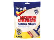 Polycell PLCMSWPA5R - Maximum Strength Wallpaper Paste 5 Roll