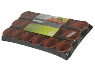 Plantpak PPK70200056 - Growing Tray 18 Pot (Pack of 13)