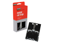 Pest-Stop Systems PRCPSESRT - Easy Setting Metal Rat Trap (Boxed)
