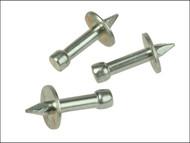 Rawlplug RAW04046 - 04 046 Washered Masonry Nails 3.7 x 30mm Pack of 100