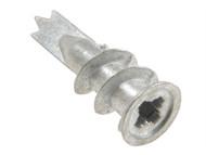 Rawlplug RAW07122 - Metal Self-Drill Plasterboard Fixing Pack of 25