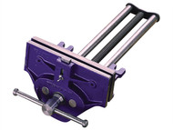 IRWIN Record REC52ED - 52ED Woodworking Vice 175mm (7in) with Quick Release & Dog