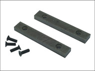 IRWIN Record RECPTD3 - PT.D Replacement Pair Jaws & Screws 100mm (4in) for 3 Vice