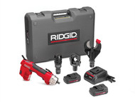 RIDGID RID43633 - 43633 RE 60 Electrical Tool Kit With 3 Heads 43633
