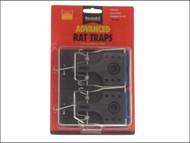 Rentokil RKLFR51 - Advanced Rat Trap Twin Pack