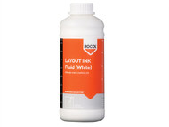 ROCOL ROC57044 - Layout Ink Fluid-White 1 Litre