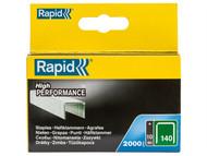 Rapid RPD14010 - 140/10 10mm Galvanised Staples Box 2000