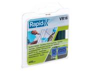 Rapid RPDVR16GA400 - VR16 Fence Hog Rings Pack 400 Galvanised
