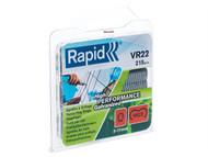 Rapid RPDVR22GA215 - VR22 Fence Hog Rings Pack 215 Galvanised