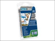 Rapid RPDVR22GR160 - VR22 Fence Hog Rings Pack 1600 Green Boxed
