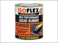 Ronseal RSLILR2L - Isoflex Liquid Rubber Black 2.1 Litre