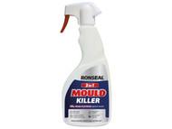 Ronseal RSLMKT500 - 3 In 1 Mould Killer Trigger Spray 500ml