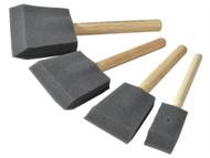 Rustins RUSFBSET - Foam Brush Set (1,2,3 & 4in)