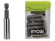 Ryobi RYBRAK16FP - RAK16FP Flat Pack Furniture Screwdriver Bit Set of 16
