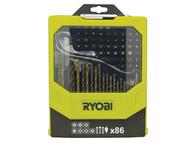 Ryobi RYBRAK86MIX - RAK 86MIX Mixed Screwdriver Set of 86