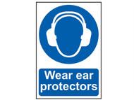 Scan SCA0005 - Wear Ear Protectors - PVC 200 x 300mm