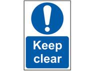 Scan SCA0253 - Keep Clear - PVC 200 x 300mm