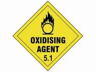 Scan SCA13729 - Oxidising Agent 5.1 - 100 x 100mm SAV Diamond