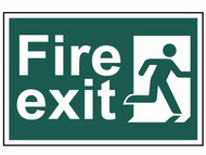 Scan SCA1507 - Fire Exit Man Running Right - PVC 300 x 200mm